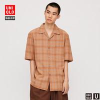 Uniqlo 优衣库 UQ427334 男士衬衫短袖