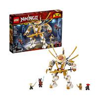 1日0点、61预告、考拉海购黑卡会员:LEGO 乐高 Ninjago 幻影忍者系列 71702 黄金机甲 *3件
