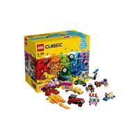 1日0点、61预告、考拉海购黑卡会员:LEGO 乐高 经典系列 10715 多轮创意拼砌篮