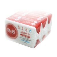 1日0点、61预告、88VIP:B&B 保宁 洋槐香 婴儿洗衣皂 200g 3块装