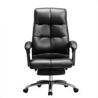 61预售:Hbada 黑白调 111BPJ 头层牛皮电脑椅