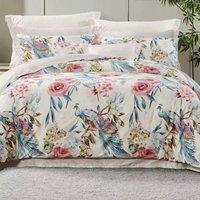 1日0点、61预告:FUANNA 富安娜 圣之花纯棉床上四件套 1.8m床