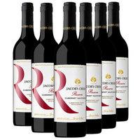 Jacob's Creek 杰卡斯  珍藏石灰岩海岸干红葡萄酒 750ML*6
