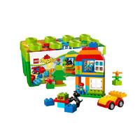 1日0点、61预告、考拉海购黑卡会员:LEGO 乐高 得宝系列 10572  多合一趣味桶 *3件