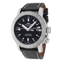 银联专享:GLYCINE Airman 46 两地时男款腕表