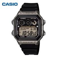 1日0点、61预告:Casio 卡西欧 AE-1300WH系列 防水电子表