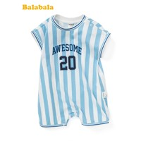 Balabala 巴拉巴拉 婴儿纯棉运动连体衣