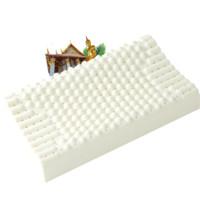 1日0点、61预告:jsylatex 泰国原装进口天然乳胶枕头 颗粒按摩款
