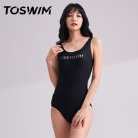 1日0点、61预告:TOSWIM 拓胜 TS91121441003 女士连体泳衣