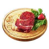 限地区:农夫好牛 原肉整切西冷牛排家庭套餐10片*2件+ 新西兰牛腱子1kg*2