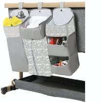 elittile 婴儿床挂袋置物篮