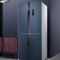 MeLing 美菱  BCD-452WPU9CA 十字对开门变频冰箱 452L