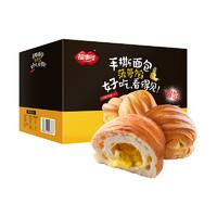1日0点、61预告、88VIP:福事多  手撕面包爆馅菠萝夹心  1kg *5件