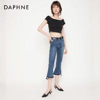61预告、考拉海购黑卡会员:DAPHNE 达芙妮 1019102020 女士尖头中跟鞋