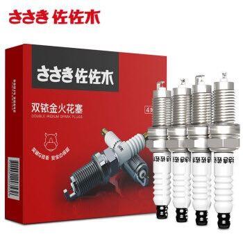 佐佐木 雙銥金火花塞 4支裝 適用于日產車系