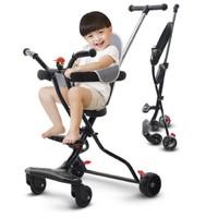 活石  婴儿手推车 (双刹轮+坐垫+篮子+铃铛)
