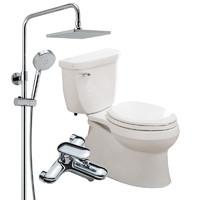 61预售:KOHLER 科勒 5706五级旋风虹吸马桶+77365T淋浴花洒套装