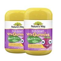 1日0点、61预告:Nature's way 佳思敏 维生素蔬菜营养软糖 60粒/瓶 2瓶装 *2件