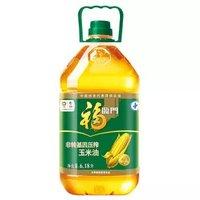 福临门 非转基因压榨玉米油 6.18L *3件