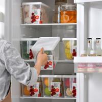 久梨沙 冰箱保鮮盒 15cm*15cm*30cm *3件