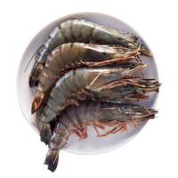 京东PLUS会员:WECOOK 味库 越南进口黑虎虾盒装 毛重600 12-20只/盒  *3件