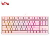 ikbc  F400 87键 机械键盘(Cherry茶轴、PBT、RGB)