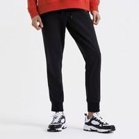 斯凯奇 SMAMS19D026-BLAK  男式针织运动长裤