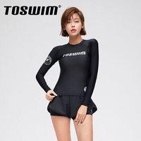 历史低价:TOSWIM 拓胜 TS91120199006 泳镜侠分体泳衣