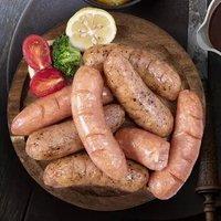 满家乐 道地肠纯肉火山石烤肠热狗肠  黑胡椒味420g*1袋+原味420g*1袋