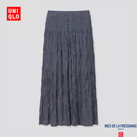 UNIQLO 优衣库 425448 女士打褶长裙