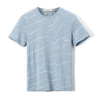 Hieiika 海一家 HNTBJ2E168A 男士短袖T恤
