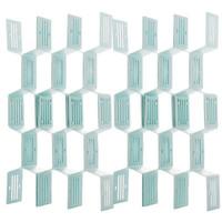 移动专享:usesl 优斯哲  抽屉收纳整理分隔板 24个装