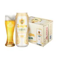 青岛啤酒 小麦白啤 500ml*12听