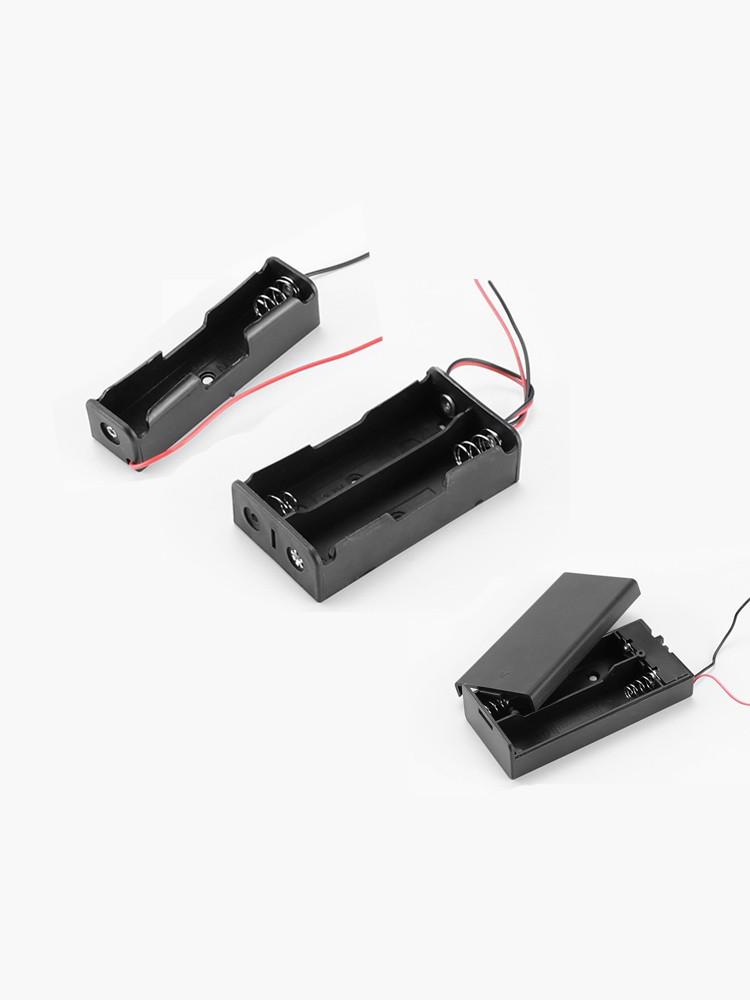 宇宙悍将 18650带线电池盒 1节
