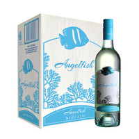 Angelfish 天使鱼 珊瑚系列 幕斯卡签名版白葡萄酒 750ml*6瓶