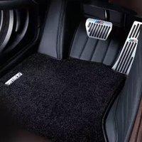 春洋 殿堂地毯绒系列 全包围双层汽车脚垫  黑色+黑色地毯绒