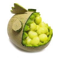 果然馋 网纹哈密瓜 净重4.5-4.8斤