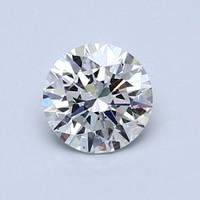 Blue Nile 0.80克拉圆形切割钻石(切工理想 成色G 净度VVS2)