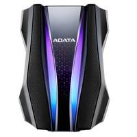 ADATA 威刚 移动硬盘 HD770G USB3.2 移动硬盘 2TB(RGB、IP68)