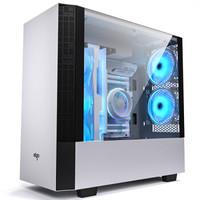 aigo 爱国者 破晓X  电脑机箱 白色(ATX3.0、分体式、全侧透)