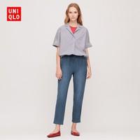 UNIQLO 优衣库 422717 女装 牛仔针织窄口裤