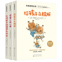 京东PLUS会员:《布教授有办法系列:二孩心理+立规矩+应对愤怒与攻击》(共3册)