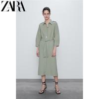 ZARA 09189032526 衬衣式连衣裙