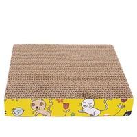 pvy 瓦楞纸猫抓板 送猫薄荷
