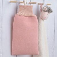京东PLUS会员:百草园 双面多用搓背巾搓澡手套 粉色 *27件