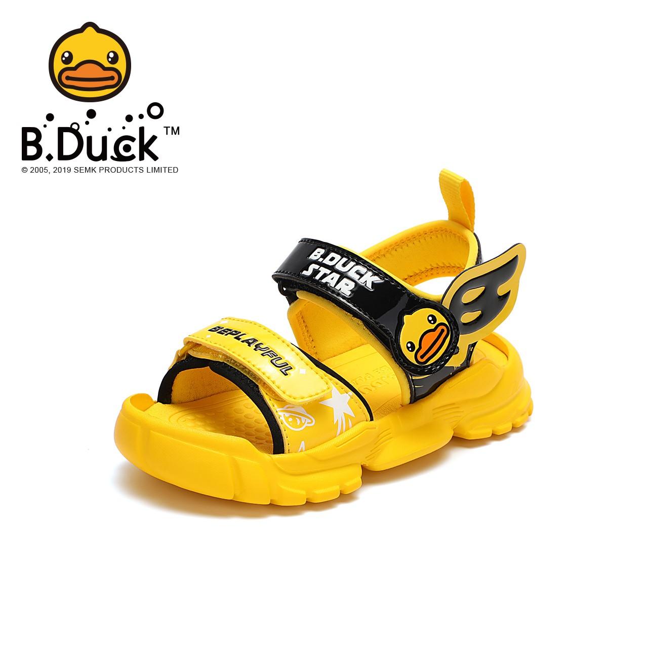 B.Duck 小黄鸭 儿童凉鞋
