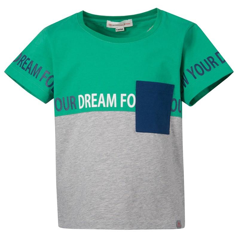 TOREAD 探路者 儿童拼接短袖T恤 QAJG83111