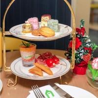 8款精美法式点心!上海康铂酒店(淮海路店)花园酒店下午茶