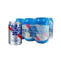 88VIP:Blue Ribbon 蓝带 北美淡爽啤酒 330ml*6罐/组  *10件