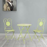 兆生 北欧户外可折叠桌椅 一桌两椅